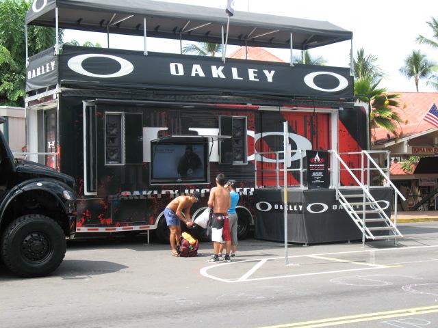 Oakley has it goin' on