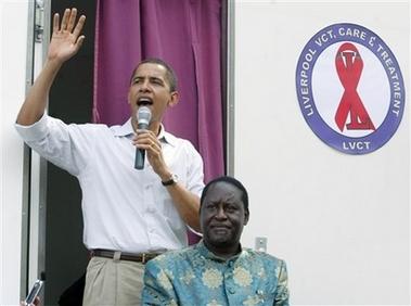 Obama and Odinga